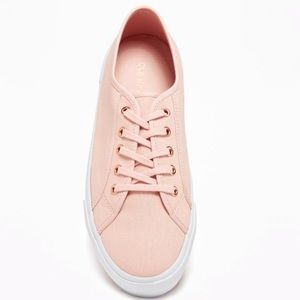 🆕😍 Memory foam comfy canvas pink sneakers shoes